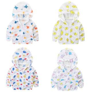 Áo chống nắng cho bé 8-20kg hàng loại 1 chất cotton xước nhẹ mát kèm mũ trùm rộng BBShine – AK017