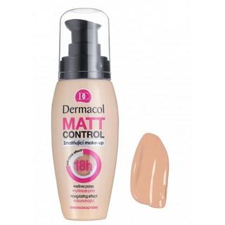 Kem Nền Kiềm Dầu 18h Dermacol Matt Control Make-up 30ml