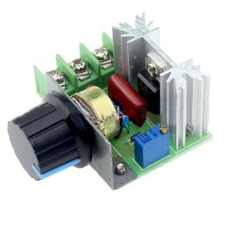 Mạch điều chỉnh tốc độ động cơ điều chỉnh linh hoạt 2000W AC 50-220V 25A PWM