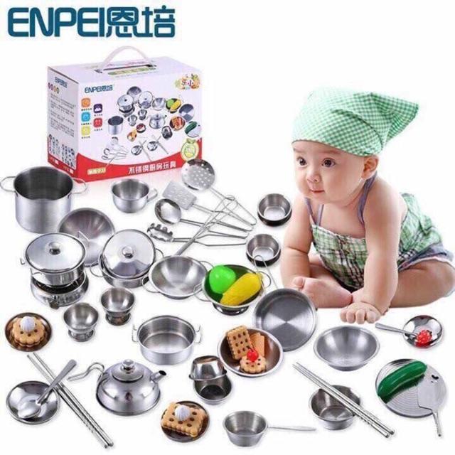 Bộ đồ chơi nhà bếp cho bé - 3218915 , 533935368 , 322_533935368 , 255000 , Bo-do-choi-nha-bep-cho-be-322_533935368 , shopee.vn , Bộ đồ chơi nhà bếp cho bé