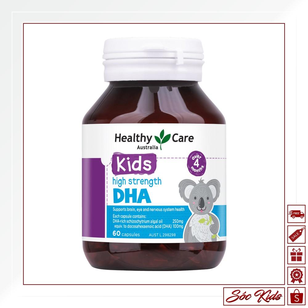 DHA Healthy Care là sản phẩm hot nhất đang được bán tại Sóc Kids.