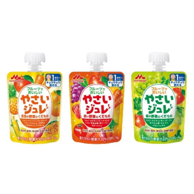 Thạch trái cây rau củ Morinaga cho bé 1 tuổi túi 70g - 10071915 , 238204623 , 322_238204623 , 57000 , Thach-trai-cay-rau-cu-Morinaga-cho-be-1-tuoi-tui-70g-322_238204623 , shopee.vn , Thạch trái cây rau củ Morinaga cho bé 1 tuổi túi 70g