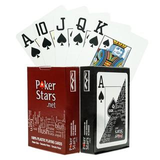 [Made in Brasil] Bài nhựa Copag PokerStars Chính hãng 100% Plastic
