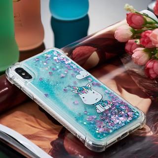 Glitter Cartoon Quicksand Shell iPhone 5S 6s 6 Plus 7 8Plus Iphone X Fashion
