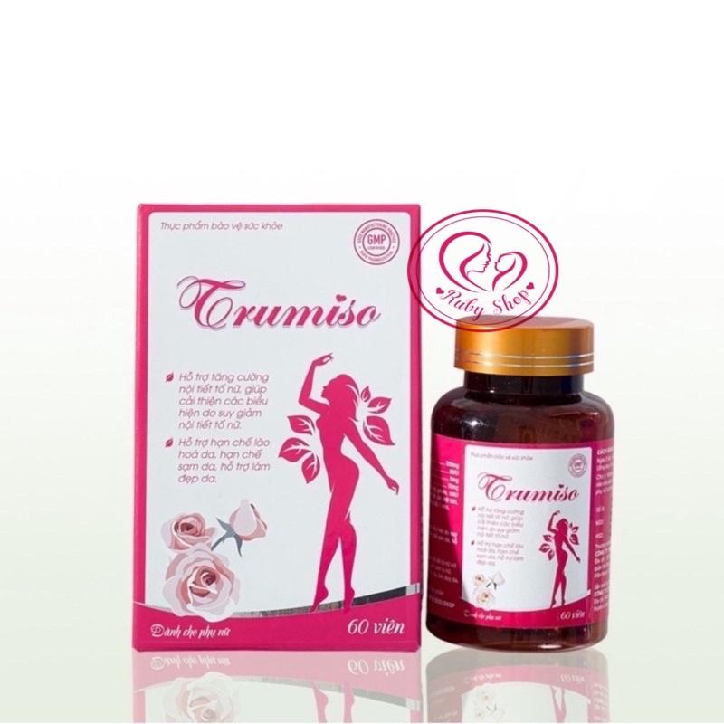 Tăng vòng 1 Trumiso - bổ sung nội tiết tố - trẻ hoá làn da nhập khẩu