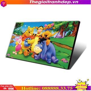 [SALE]- Đồng hồ - đồng hồ bàn hoạt hình cho thiếu nhi gấu Pooh