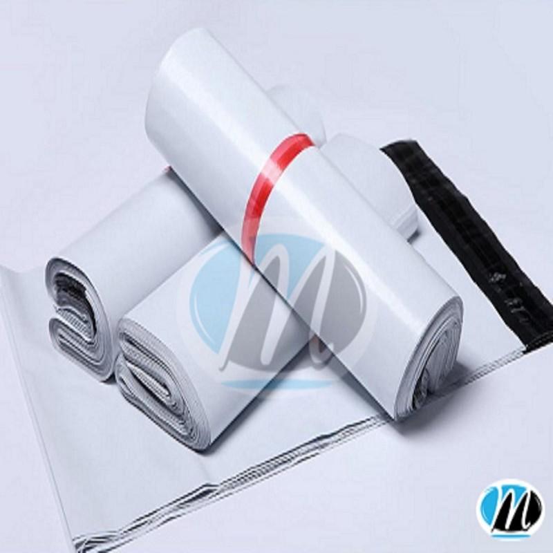 cuộn 100 chiếc túi bóng sứ có keo dính đóng gói hàng hóa 22x14