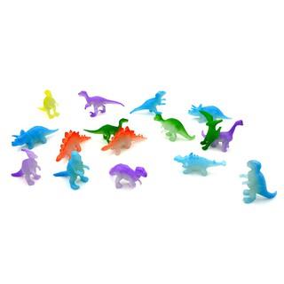 10PCS 2 inch Mini Jurassic Noctilucent Dinosaur Toys Kids Action & Figures Toys