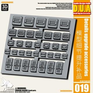 Phụ kiện mod ANUBIS – Chi tiết nhựa in 3D DUA019 chuyên dụng cho mô hình