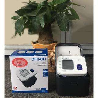 Máy đo huyết áp cổ tay Omron HEM-6161 thumbnail