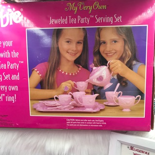 Nội thất nhà búp bê Barbie chính hãng tồn kho thanh lí. Set số2
