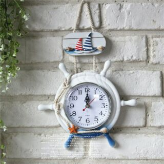 Đồng hồ treo tường phong cách biển