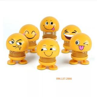 [Giá Lẻ Như Giá Sỉ] Đồ chơi thú nhún lò xo Emoji cảm xúc