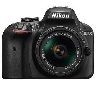 Máy Ảnh Nikon D3400 kèm ống kính AF-P 18-55mm VR - Chính Hãng Nikon Việt Nam