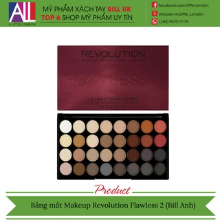 [TOP 1 SHOPEE] Bảng mắt Makeup Revolution Flawless 2 (Bill Anh) thumbnail