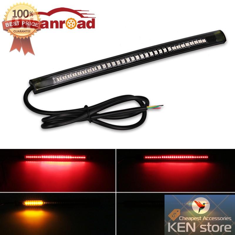 Đèn led thanh, led bar tích hợp đèn led xi nhan, đèn led thắng