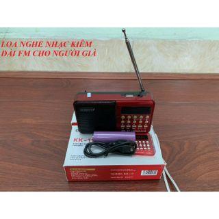 ĐÀI RADIO FM NGHE NHẠC QUA USB VÀ THẺ NHỚ KK – 11 – ADP209