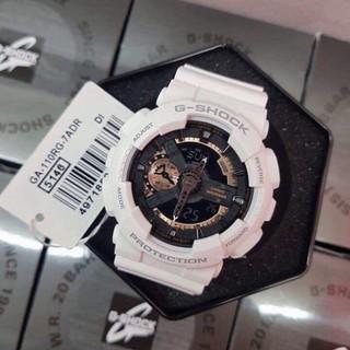 (Thẻ bảo hành 12 tháng) Đồng hồ thể thao nam Gshock GA110 Black - Đồng.hồ.g.shock