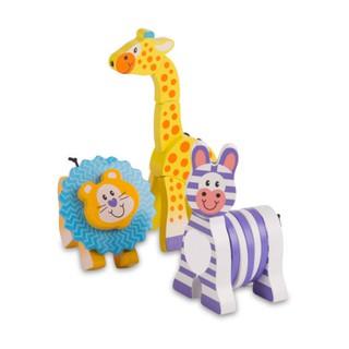 [Melissa & Doug] FIRST PLAY Safari Gift Set (education toys kids montessori educational Melody Sound learning)