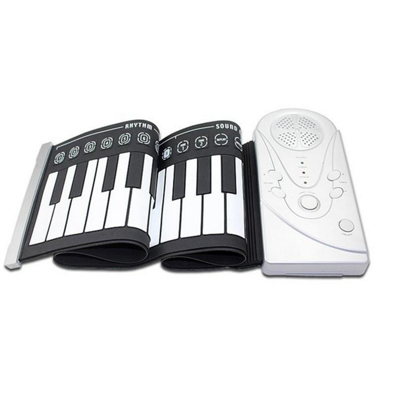 Đàn Piano điện tử bàn phím cuộn dẻo 49 keys HOT