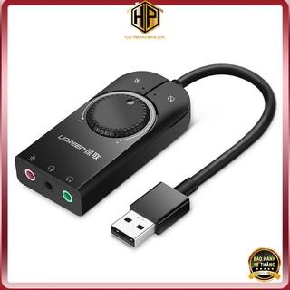 Cáp USB Sound chuẩn 3.5mm có Volume control chính hãng - Ugreen 40964 thumbnail