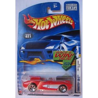 Xe mô hình Hot Wheels Corvette SR-2 52942