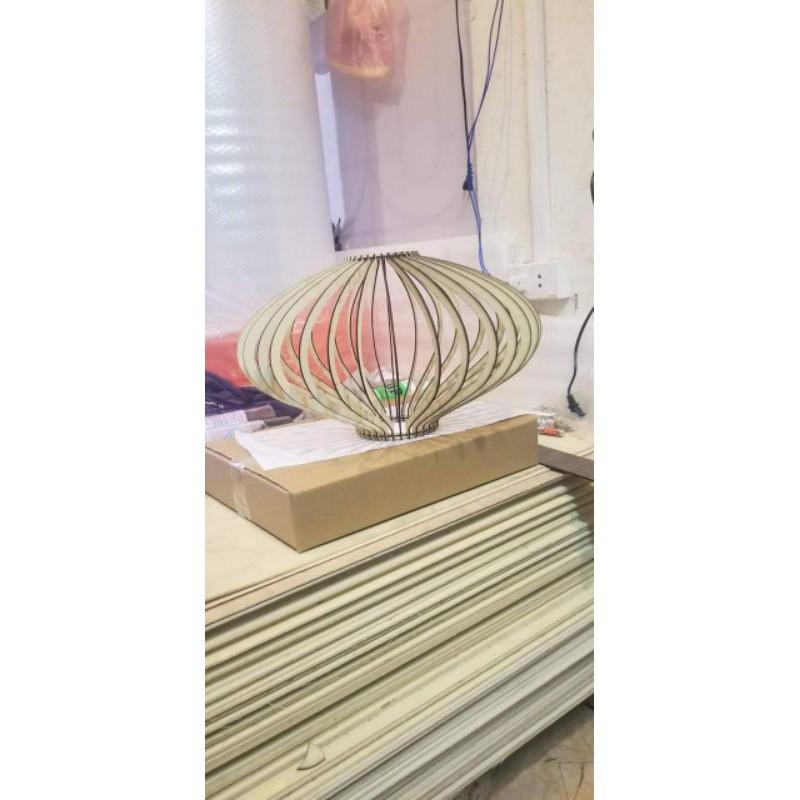 [ Xưởng Đèn] Đèn Gỗ Thả Trần Giá Rẻ - Gỗ Bạch Dương
