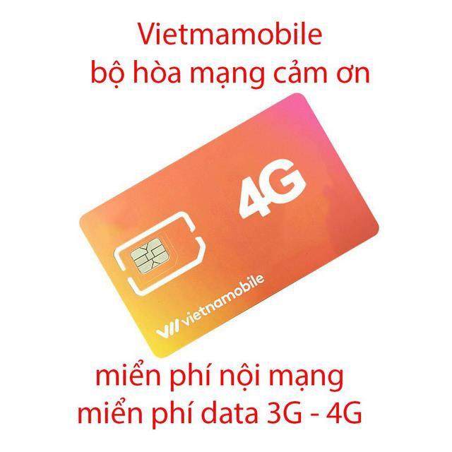Sim Vietnamobile gói hòa mạng cảm ơn