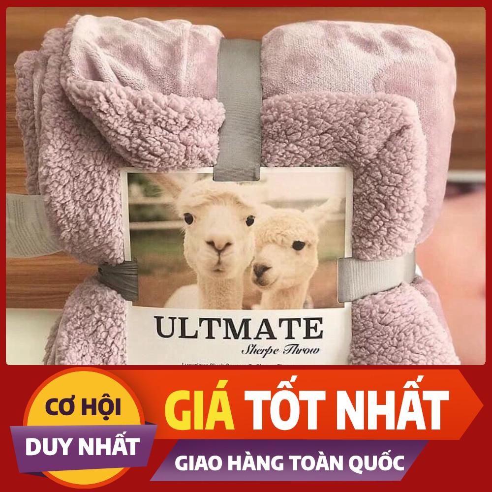 Chăn lông cừu Ultimate loại dày 2 lớp mới nhất 2020