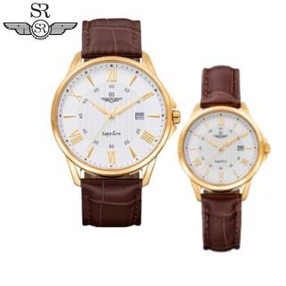 Đồng hồ nam nữ chính hãng SRWATCH SL3003.4602CV và SRWATCH SG3003.4602CV trắng, mặt tròn, sang trọng, lịch lãm quý tộc thumbnail
