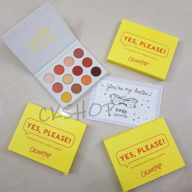 Bộ phấn mắt Yes Please của Colourpop - 3360401 , 1099477661 , 322_1099477661 , 550000 , Bo-phan-mat-Yes-Please-cua-Colourpop-322_1099477661 , shopee.vn , Bộ phấn mắt Yes Please của Colourpop