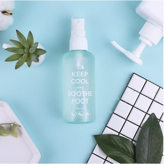 [KEEPCOOL] Mềm Mại Cooling Foot Spray Soothe Cooling Foot Spray 100ml thumbnail
