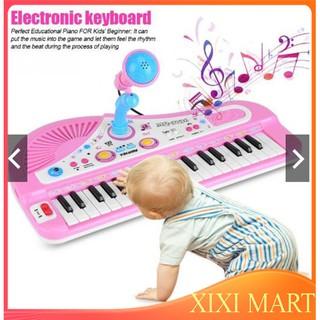 Đàn Piano kèm Micro cho bé,37 phím .Tặng kèm đồ chơi bất kì cho bé. ĐB01