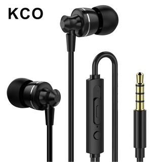 Tai nghe KCO D11 loại nhét tai giắc cắm 3.5mm có mic kiểu dáng thể thao cho iOS Android