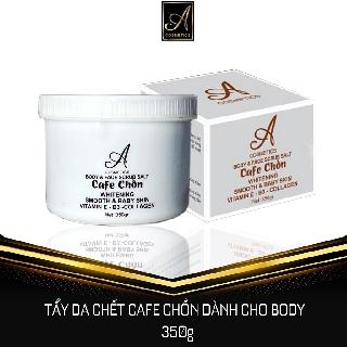 Muối Tẩy Da Chết Cafe Chồn 300g Trị thâm, viêm lỗ chân lông,sáng da và làm sạch sâu bên trong lỗ chân lông thumbnail
