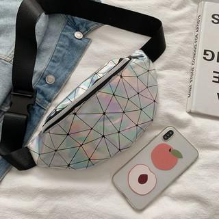 Túi đeo chéo bao tử màu laser 3D TXN142 thumbnail