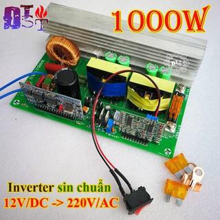 [Mã SKAMCLU9 giảm 10% đơn 100K] Mạch kíck điện Sin chuẩn 12V lên 220V 1000W chạy các thiết bị