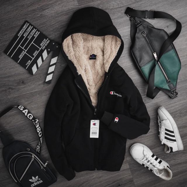 [Limited] áo khoác tránh rét, lót lông - nỉ bên ngoài - bao đổi trả sản phầm