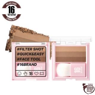 Phấn Tạo Khối Đa Năng 16Brand Filter Shot Shanding Almond 7g thumbnail