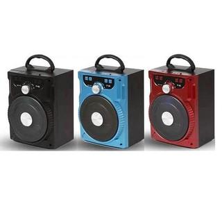 Loa bluetooth Karaoke Ruizu P88 hỗ trợ thẻ nhớ/USB/AUX/FM/jack 6.5mm (Màu ngẫu nhiên) + Kèm 1 micro có dây