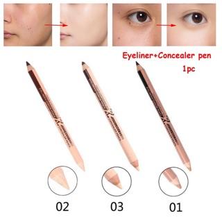 Bút kẻ mắt + che khuyết điểm 2 trong 1 bền màu chống thumbnail