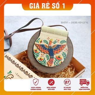 Túi xách gỗ handmade - Giỏ xách Vintage style - Túi xách nữ -Túi xách mini nhiều mẫu-Túi xách Đẹp-Độc-Lạ - Giá rẻ nhất