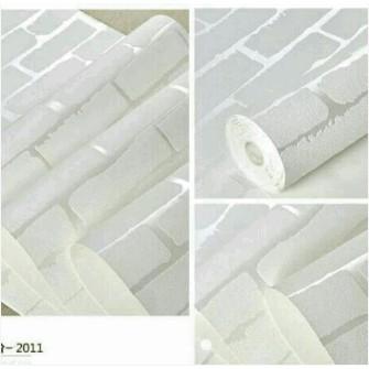 Giấy dán tường 3D vân nổi - gạch trắng (khổ rộng 0.53m) - 9958023 , 509260195 , 322_509260195 , 26000 , Giay-dan-tuong-3D-van-noi-gach-trang-kho-rong-0.53m-322_509260195 , shopee.vn , Giấy dán tường 3D vân nổi - gạch trắng (khổ rộng 0.53m)