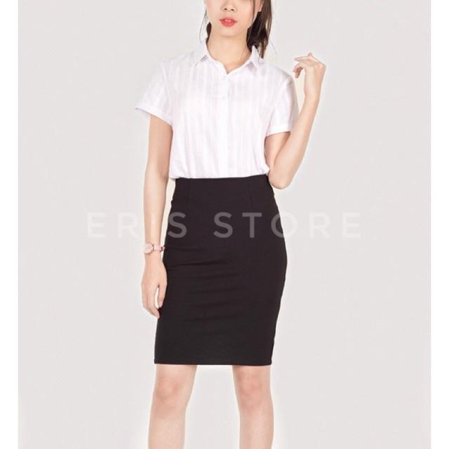 CHÂN VÁY CAO CẤP- Chân váy bút chì dài co dãn 4 chiều công sở sở ERIS siêu đẹp - ER0021