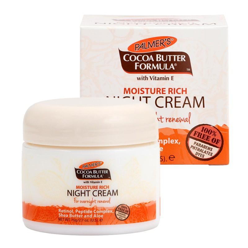 Kem Dưỡng Da Ban Đêm Giữ Ẩm, Ngăn Ngừa Lão Hóa Night Cream - Palmer
