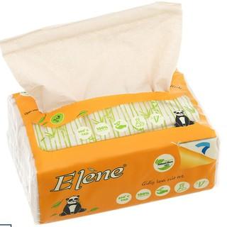 Thùng 30 gói giấy ăn lụa tre elene