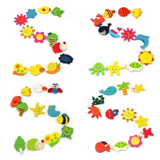 12Pcs/Set Baby Cute Fridge Magnet Educational Toys