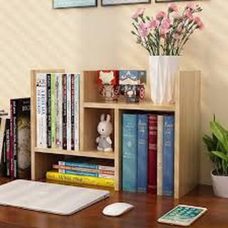 Kệ sách để bàn mini - kệ sách mini nội thất phòng làm việc 40x25x35-70