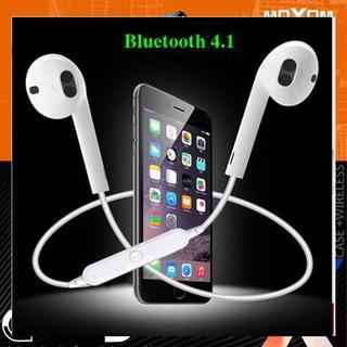 -xả kho- Tai Nghe Bluetooth Thể Thao S6 Sports Headset có Míc đàm thoại