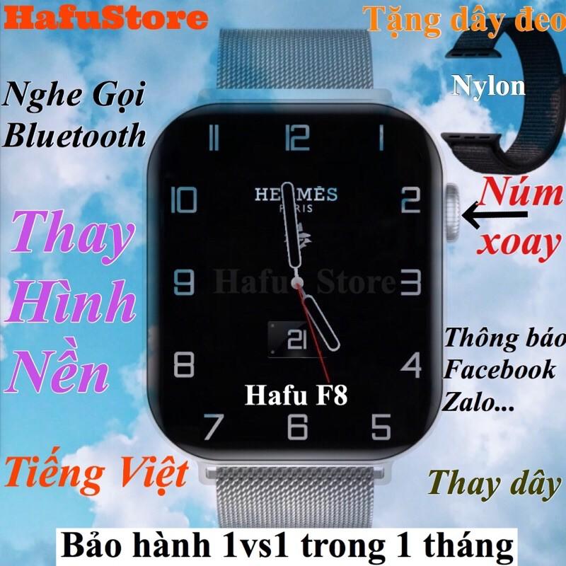 Đồng hồ thông minh HAFU F8 (FK78) Smartwatch thay Ảnh nền nghe gọi bluetooth theo dõi sức khoẻ